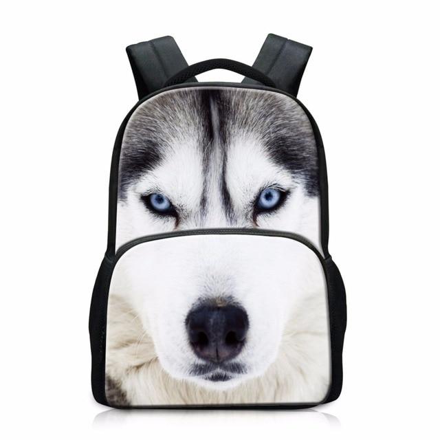 Cool Wolf Ultralight Backpacks for Teen Boys dinosaur back packs Best School Bags for College Students Bookbags Animal Printing