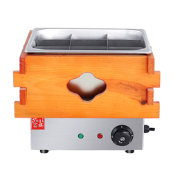 220V Commercial Oden Machine Convenience Store Food Cooker Hotspicy Cooking Machine Slow Cooker 9 Square EH-10