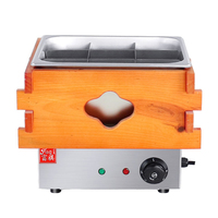 220V Commercial Oden Machine Convenience Store Food Cooker Hotspicy Cooking Machine Slow Cooker 9 Square EH 10