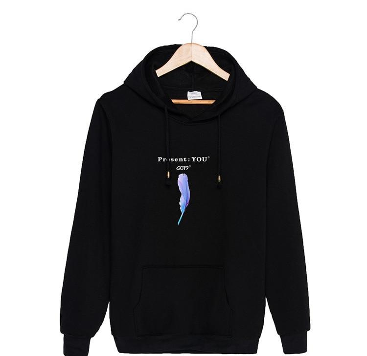 Women's Clothing Reliable Korean Fashion Kpop Got7 Jackson Mark Jb Jr Bambam Harajuku Hoodies And Sweatshirt Women Hip Hop Streetwear Couple Clothes