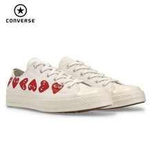 Converse X CDG PLAY  New Arrival Men Skareboarding Shoes Red Heart Outdoor Sports Sneakers Women #162975C
