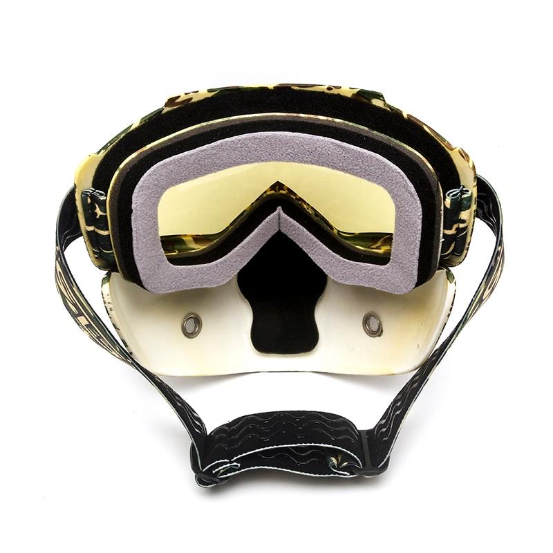 Triclicks Motocycle Sunglass Goggle Protective Gears ճկուն - Պարագաներ եւ պահեստամասերի համար մոտոցիկլետների - Լուսանկար 6