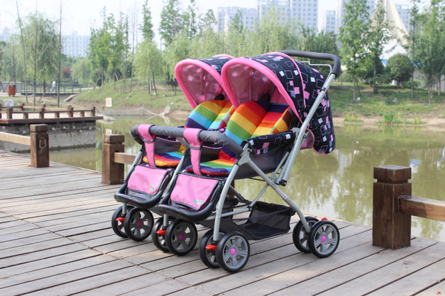 Twins Baby Stroller Twins,Mom's Best Choice Twin Baby Travel ...
