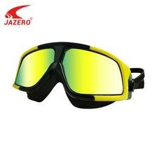 JAZERO Men Women Swimming Goggles Professional Anti Fog Swim Eyewear Electroplate Waterproof Glasses For