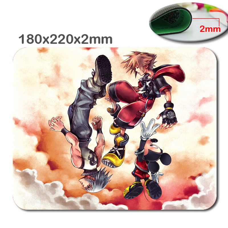 Cartoon Customized Rectangle Non-Slip Rubber 3D Fast printing gaming rubber durable notebook mouse pad size 180mmx220mmx2mm
