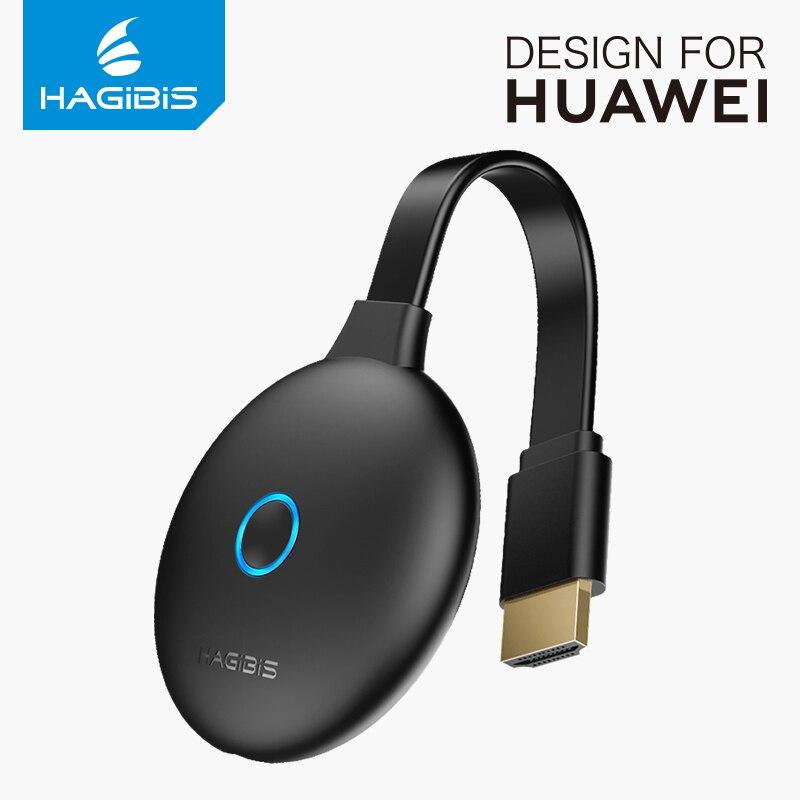 Hagibis беспроводной HDMI dongle дисплей К 4 к DLNA Airplay экран зеркалирование для iPhone iPad Mac 1080P HD ТВ карты для ПК Huawei mate20
