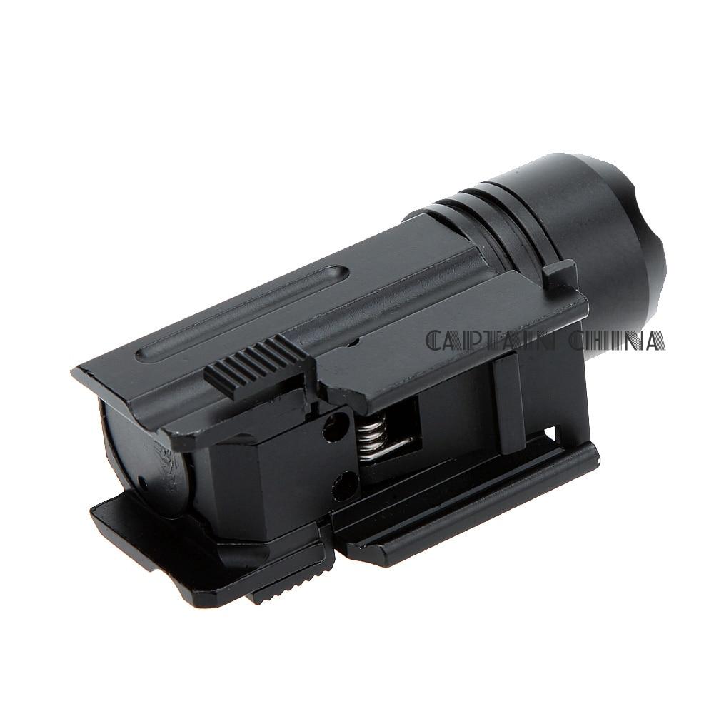 Escopeta LED Rifle Glock Gun Flash Light Tactical Torch Linterna con - Caza - foto 5