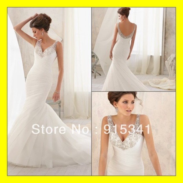 Simple White Wedding Dresses Short Women Petite Brides Long Sleeve