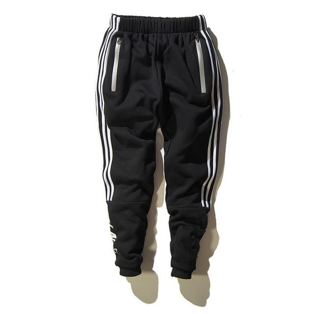 2017 Palace Sweatpants for Men Sarouel Homme Long Casual Letter Printed Cotton Pant Autumn Winter Trouser Male Tracksuit Black