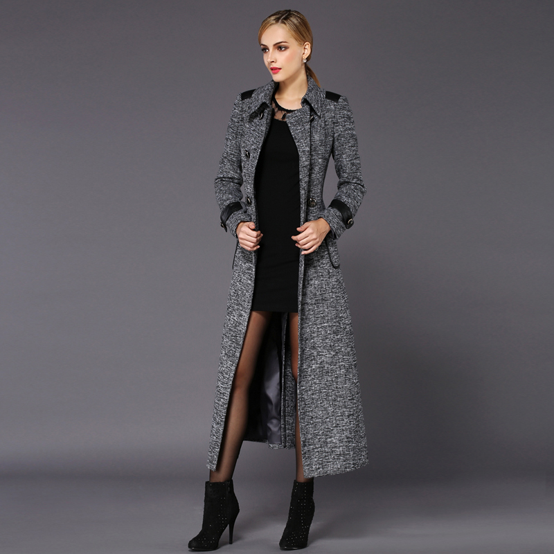 Long Wool Coat For Women