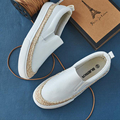 2017 Spring Autumn Women loafer Round Toe espadrilles Comfortable Hemp Bottom Frisherman Shoes Slip On Zapato Mujer z419