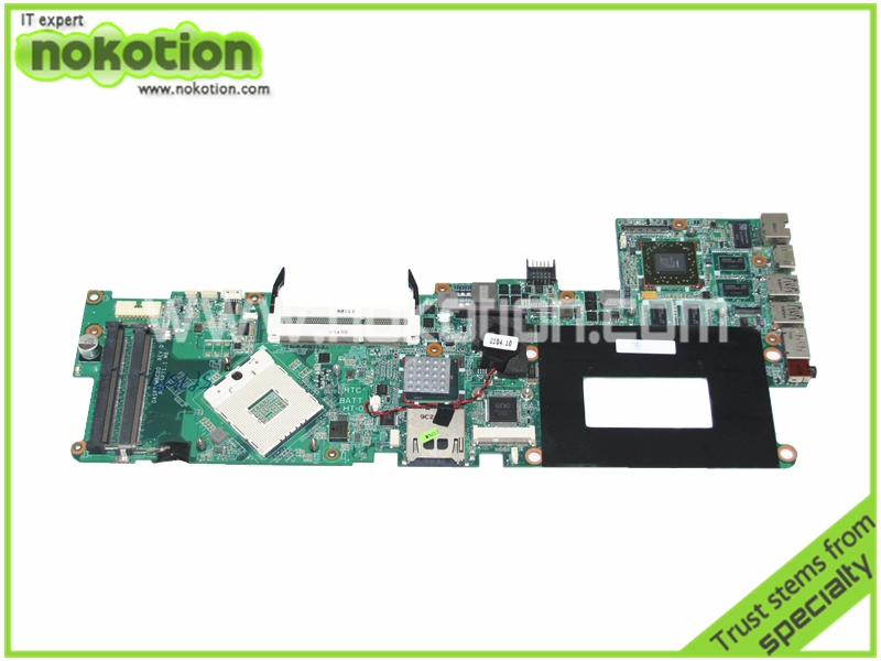NOKOTION laptop motherboard for HP ENVY 15 DASP7DMBCD0 579579-001 PM55 ATI RADEON HD 5650 DDR3 Mainboard warranty 60 days 683494 501 for hp laptop mainboard 683494 001 4440s motherboard 4441s laptop motherboard 100% tested 60 days warranty