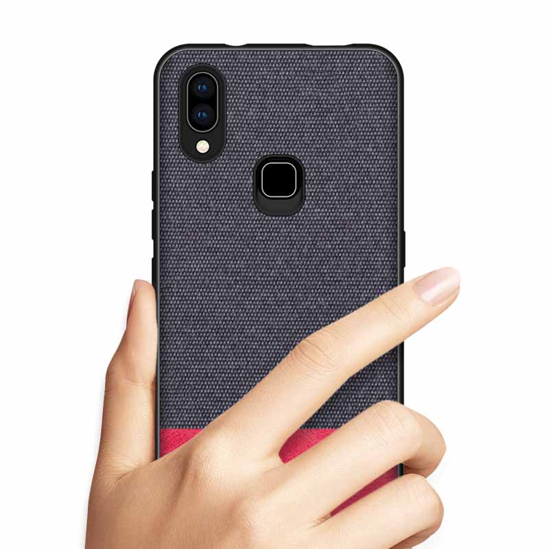 PHOPEER Silicone Case for Vivo Nex S NEX A case cover for Vivo X23 X21 X21i X21 UD soft tpu shockproof fabric back cover in Fitted Cases from Cellphones Telecommunications