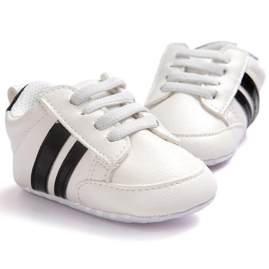 ROMIRUS Boys Baby Girls Miękkie podeszwie sneaker PU skórzane - Buty dziecięce - Zdjęcie 3