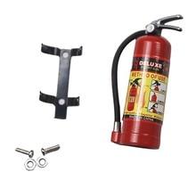 Запчасти для гусеничных аксессуаров пожарная модель огнетушителя Для осевой SCX10 TRX4 с наклейками