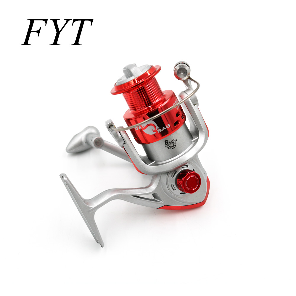 Hot Wheels Fish Spinning Reel 5.2:1 8Ball Bearing Carretilhas De Pescaria Molinete Fishing Reel Accessories 1000-7000 Series