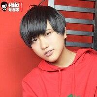HSIU Osomatsu Matsuno Cosplay Wig Osomatsu San Costume Play Wigs Halloween Costumes Hair