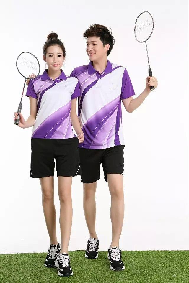 Aliexpress.com  Buy Badminton t Shirts Men and Women Shirts and Shorts Ladies Sports Athletic ...
