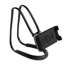 Lazy Bracket DIY Hanging on Neck Cell Phone Mount Holder Universal Mobile Stand Free Rotating for Multiple Functions