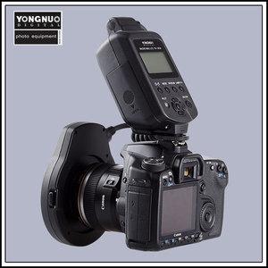 Image 3 - Yongnuo YN 14EX YongnuoYN 14EX TTL LED מאקרו Speedlite טבעת פלאש אור עבור Canon 5D Mark II 5D סימן III 6D 7D 60D 70D 700D 650D