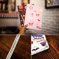 """case ipad !ACCEZZ Cartoon Flip Cover Tablet Sleeve For iPad Mini 1 2 3 4 7.9"""" inches Holder Stand Smart Sleep Wake Up Full Protective Case (5)"""