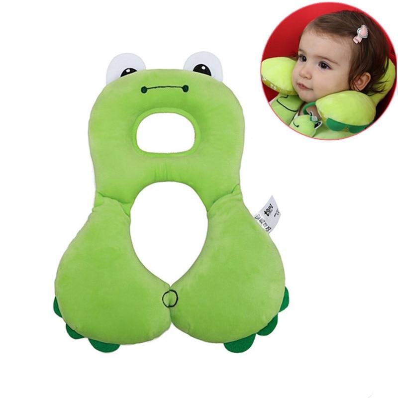 1 til 4 år baby dyr serie hals beskyttelse pude u-form bomuld nyfødte formning puder baby vokser sikkerhed sæde nakkestøtte
