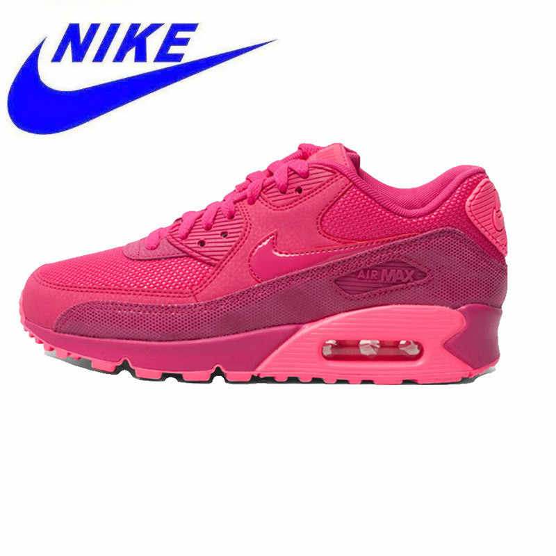 newest 4f71c 7f595 Original Nike AIR MAX 90 PREMIUM Women Running Shoes,Authentic New Arrival Women  Outdoor Sports