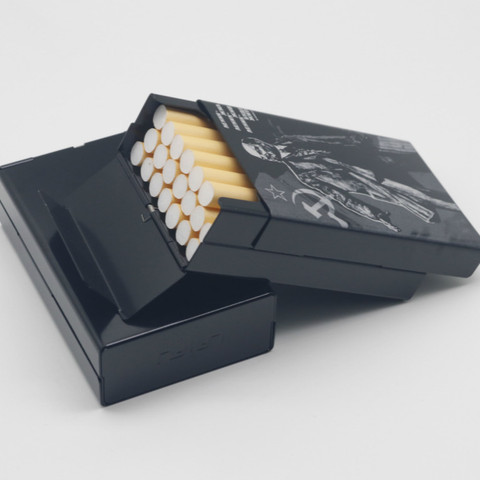 New arrival Aluminium Alloy Cigarette Case Laser Carved Will Not Fade Cigarette Boxes Pocket Box Storage Container Gift Box Islamabad