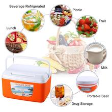8L Outdoor Incubator Portable Food Storage Box Car Cold Fishing Cooler Freezer Travel Coolers For Cars