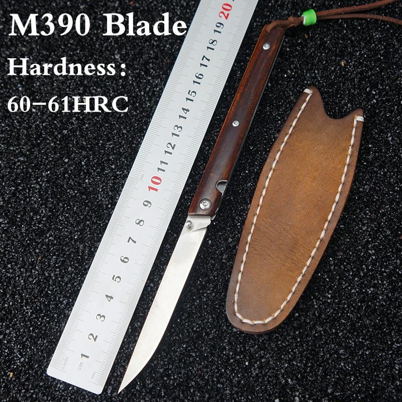 Austria M390 Steel folding knife tactical survival knife M390 folding blade outdoor camping knives pocket EDC