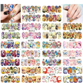 SWEET TREND 48Sheets Nail Art Stickers Windmill/Butterfly/Cat Mixed Decals Watermark Tips Decoration Manicure Tools A1273-1320