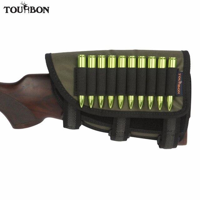 Tourbon pistolet bout à bout Stock repose-joue tactique gaucher antidérapant rembourré fusil coquille pochette 10 cartouches titulaire accessoire de chasse