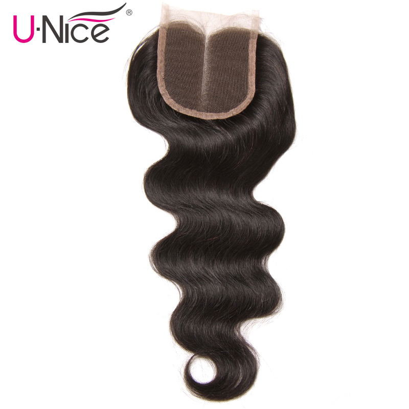 UNice Hair Icenu Remy Hair Series Brazilian Body Wave Swiss Lace Human Hair 1 Piece
