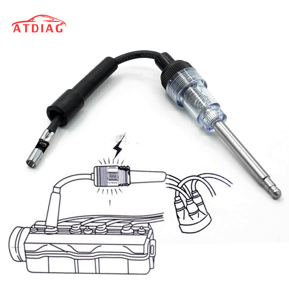 Spark Plug Test Tool Ignition System Coil Engine In Line Auto Diagnostic Tester