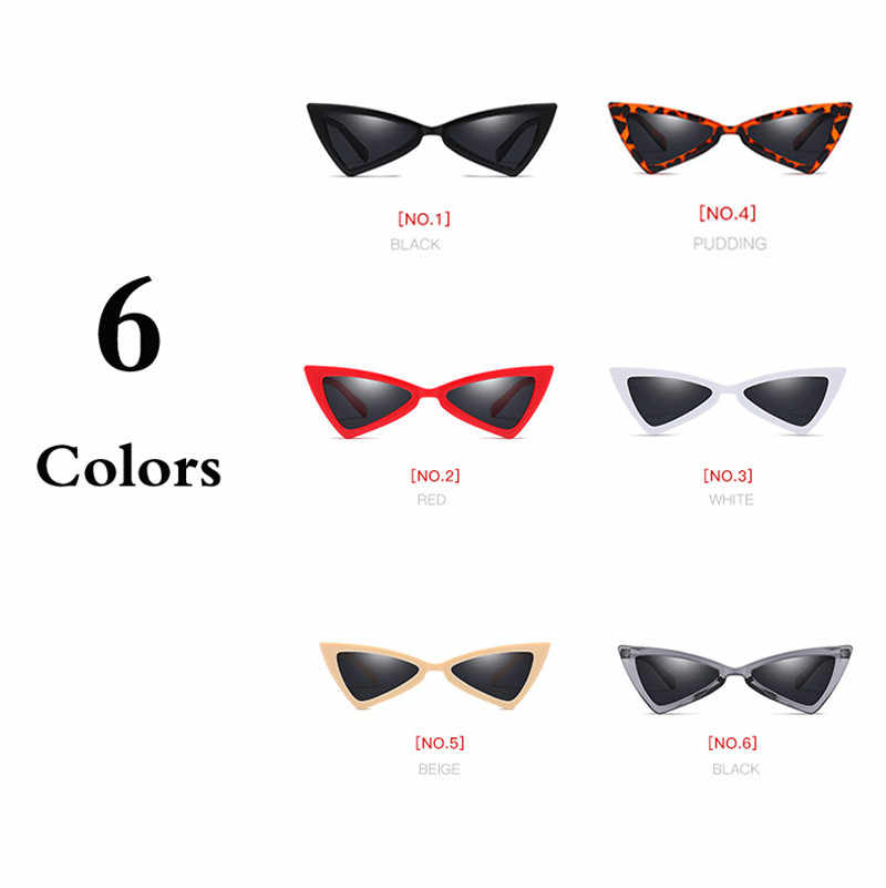 d098f6ee97 ... iboode Vintage Women Triangle Sunglasses Cool Outdoor Driving Goggles  Black Ladies Eyewear Retro Colorful Color Lens ...