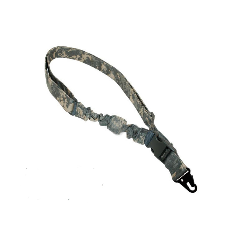 1pcs Tactical Single Point Adjustable Bungee Rifle Gun Sling System Strap Portable Hot Worldwide Wholesale