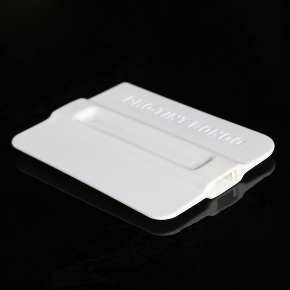 Image 3 - Premium Quality Car Tint Tools 7*10cm Bump Cards White Bondo Squeegee Without Magnet MO 143W 5pcs/Pack Free Shipping-in Car Stickers from Automobiles & Motorcycles