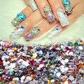 2000 Шт. Блестящий Nail Art Смешанная Форма Плоской Задней Стразы Акриловые Diy Decoration09WG