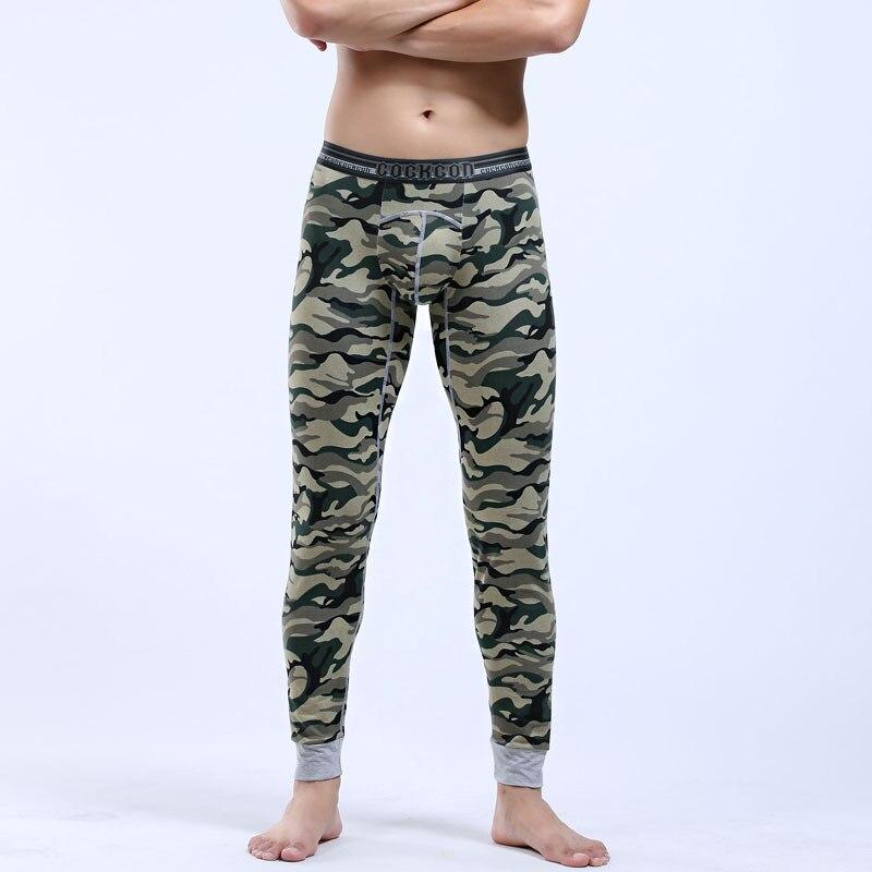 Herbst Winter EUR Größe Camouflage COCKCO Marke Warm Cotton männer Thermo-unterwäsche Ihermo Unterwäsche Mann Lange Jjohn Unterhose 365