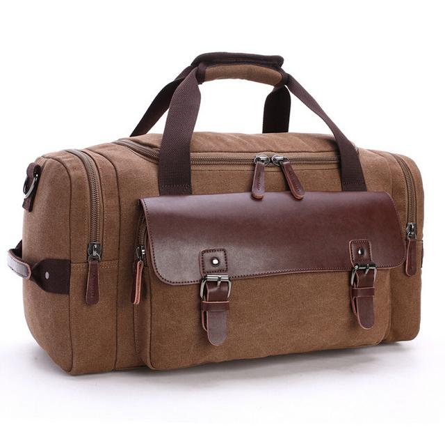 5 cor 2016 nova moda quente sacos de estudantes ombros oblíqua saco de mão bagagem grande capacidade bolsa de viagem saco de lona bagagem