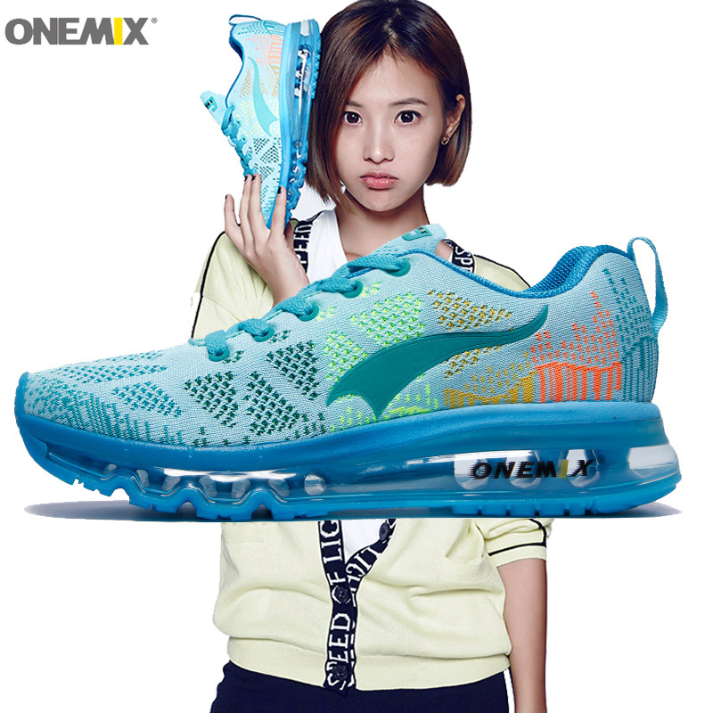 Women Running Shoes Run Athletic Trainers Woman Sky Blue Zapatillas Deportivas Sports Shoe Air Cushion Outdoor Walking Sneakers gakuen polizi vol 1