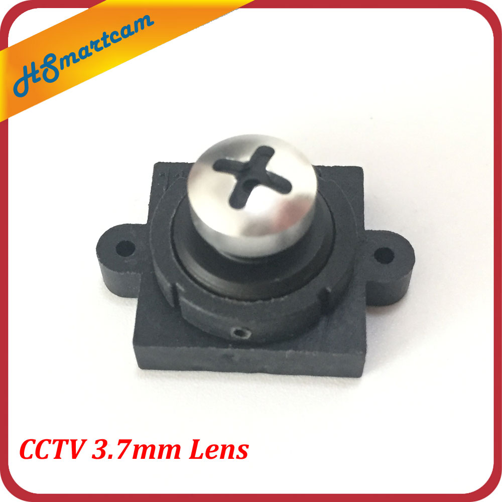 New 3.7MM Screw Pinhole Lens For Security Camera M12 Mount CCTV 650nm Lens
