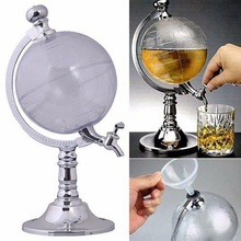 Mini Globe Shaped Bar Drink Wine Beer Pourer Pump Dispenser Barware Beer Beverage Liquor Alcohol Pouring Machine For Partys цены онлайн