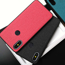 Case For Xiaomi Redmi Note 5 case cover note5 pro back Fabric Leather silicone edge fabric coque for note