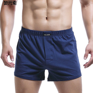 Brand Sexy Man Underwear Boxer Shorts Mens Trunks L XL XXL 3XL Male Cotton Slacks High Quality Home Sleepwear Underpants(China)
