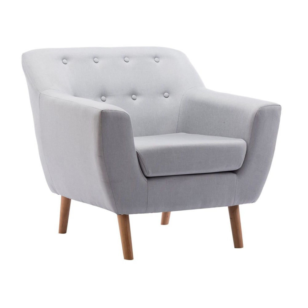 Household Solid Wood Lounge Armchair Universal Single Sofa Durable Wooden Chairs Modern Design Loft Cafe Chair Home Furniture excellent quality simple modern stools fashion fabric stool home sofa ottomans solid wood fine workmanship chair furniture