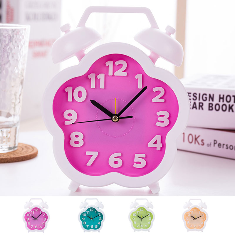 Best Selling 2018 Products Alarm Clock Kids/digital/child/round/large/pink/big Alarm Clock Digital/round Alarm Clocks Cartoon