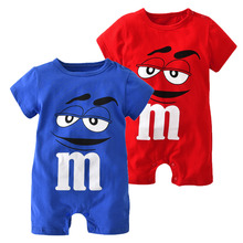 Girl Romper Outfit Jumpsuit Infant Clothes Newborn Toddler Baby Boy Cartoon-Printing