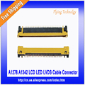 Para macbook pro 13 ''a1278 a1342 lcd led lvds cable conector 2009 ~ 2012