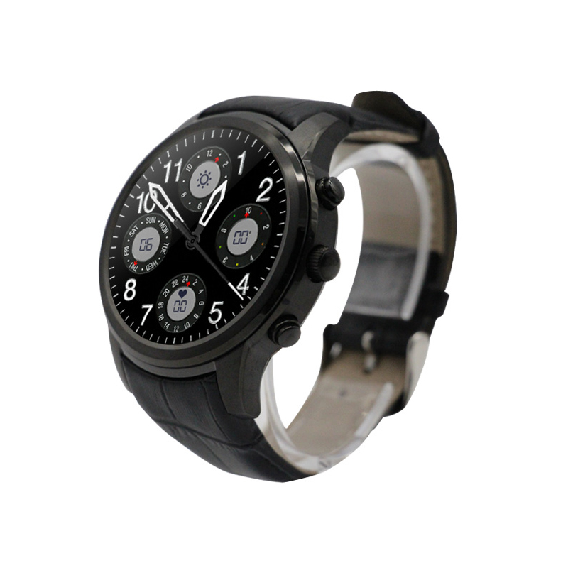 Original Interpad 3G Smart Watch Android 5.1 MTK6580 Quad Core 2/16 GB 3G WIFI Heart Rate GPS Bluetooth SmartWatch For IOS Phone no 1 d6 1 63 inch 3g smartwatch phone android 5 1 mtk6580 quad core 1 3ghz 1gb ram gps wifi bluetooth 4 0 heart rate monitoring